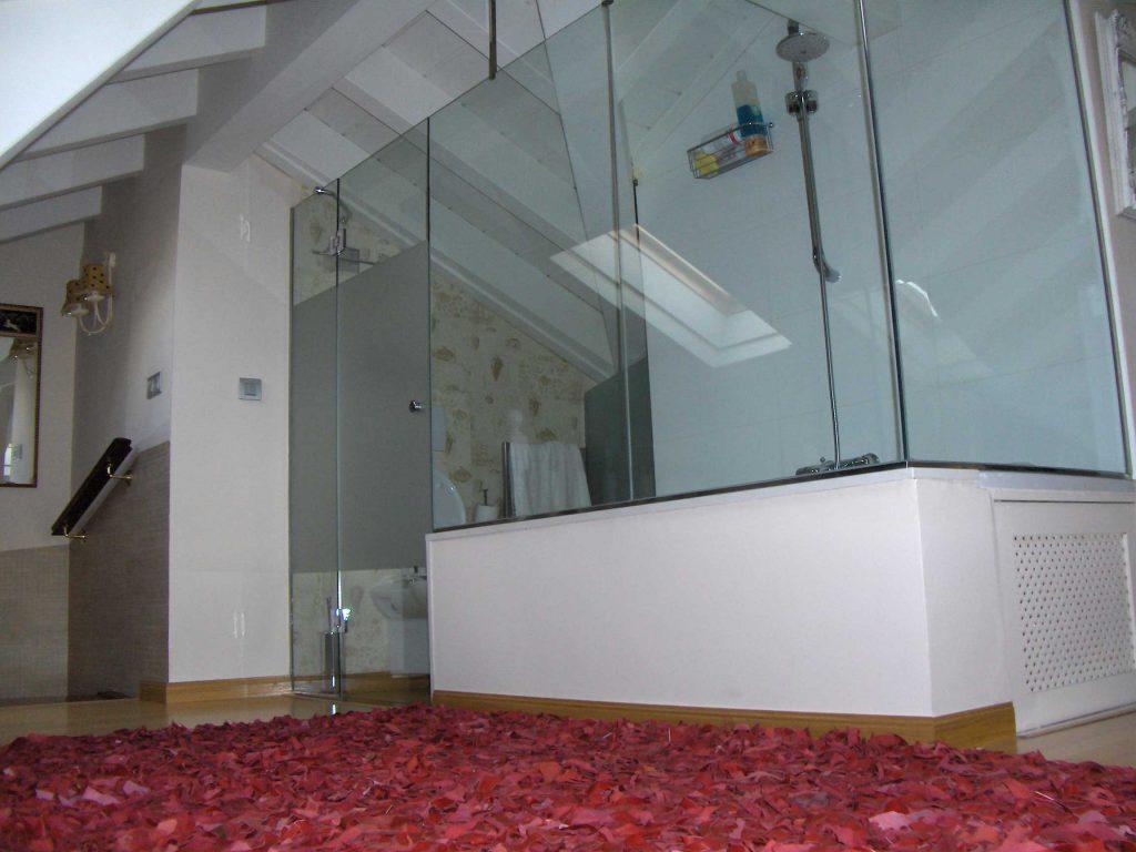 Puertas ducha corporacion elio s a c soluciones en vidrio for Baranda para ducha
