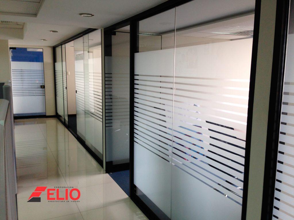 Mamparas tipo divisores de ambientes o separadores en lima for Mamparas para dividir ambientes